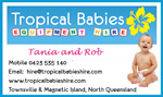 tropical babies hire cards